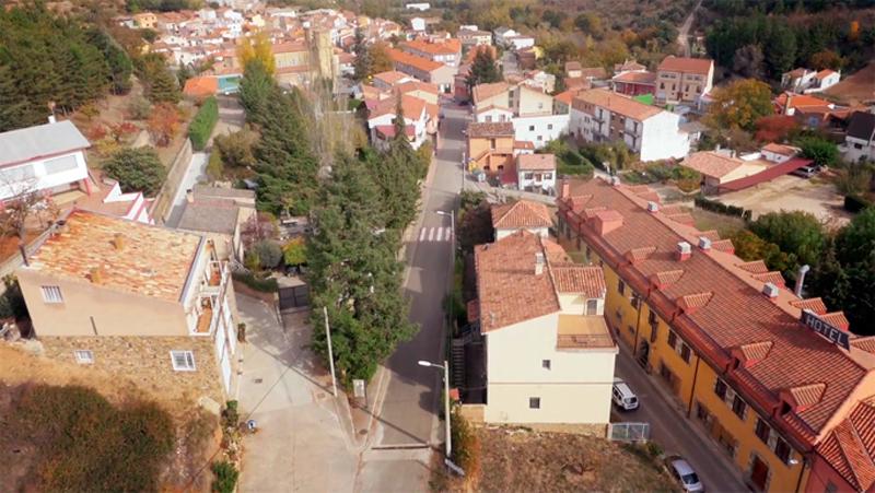 Vista aérea de San Martín #MicoMoncayo #Moncayo