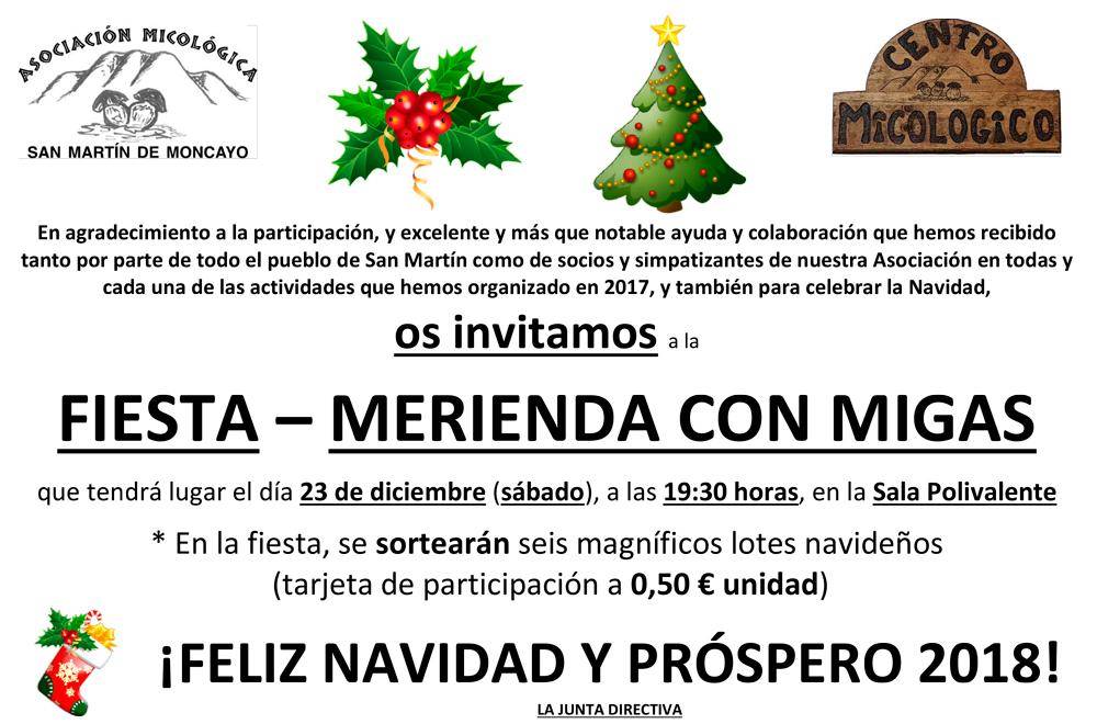 Fiesta de Navidad 2017 #MicoMoncayo en San Martín de la Virgen de #Moncayo