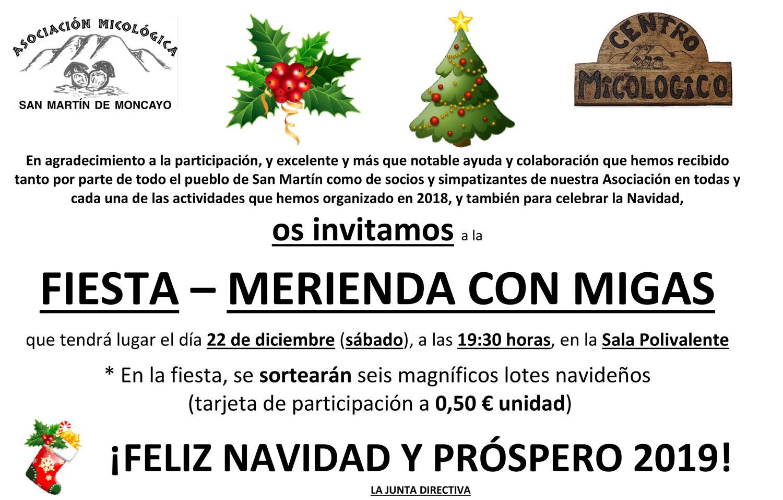 Fiesta Navidad 2018 #MicoMoncayo en San Martín de la Virgen de #Moncayo